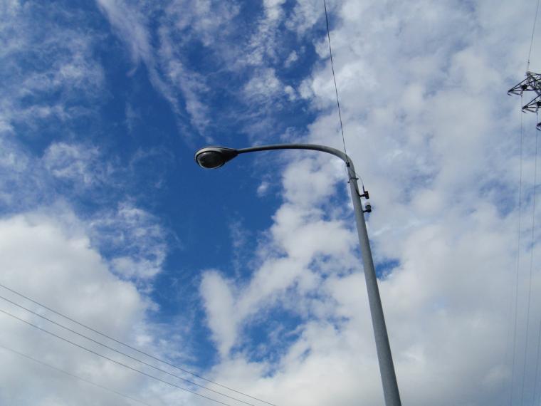 道路交通照明改修工事